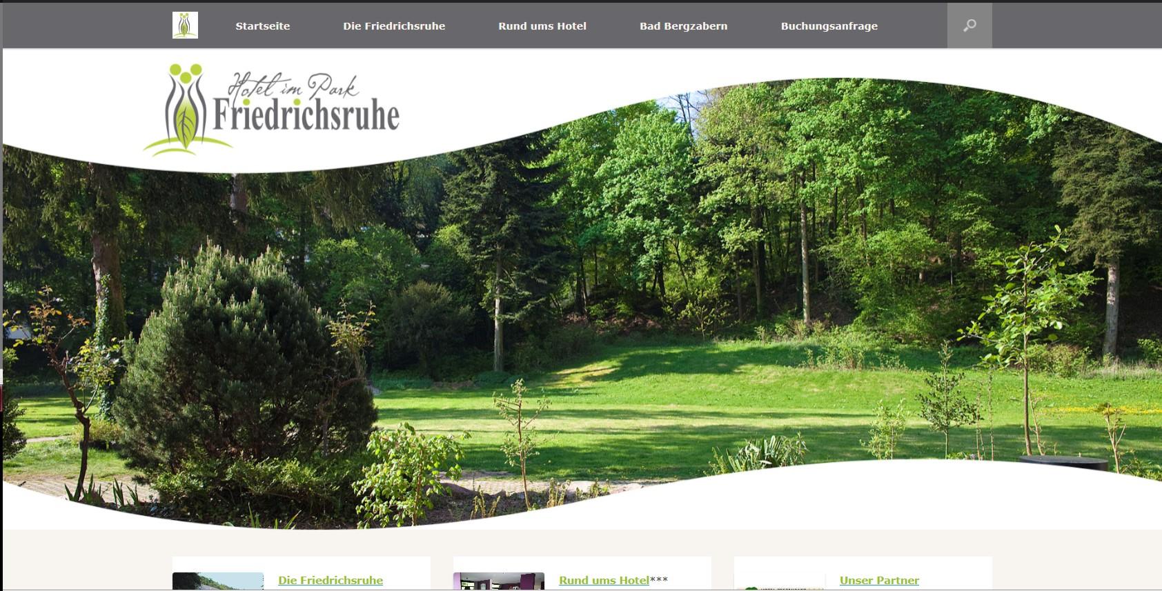 Bild Website Hotel im Park Friedrichsruhe Bad-Bergzabern
