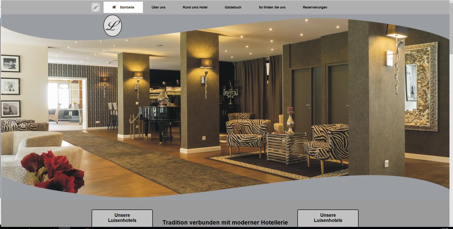 Bild Website Hotel Luisenpark - Bad-Bergzabern